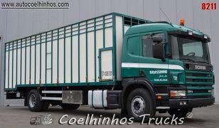 camion trasporto bestiame SCANIA 124G 420