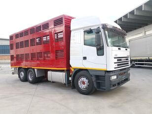 camion trasporto bestiame IVECO 240E48 CURSOR ANIMALI VIVI