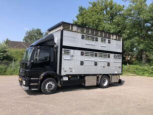 camion trasporto bestiame MERCEDES-BENZ Axor Pezzaioli 1/2 stock Veewagen Hefdak