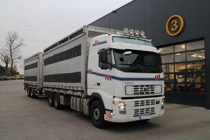 camion trasporto bestiame VOLVO FH12.480 CHICKEN TRANSPORTER + rimorchio trasporto bestiame
