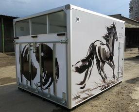 camion trasporto cavalli ИСТОК nuovo
