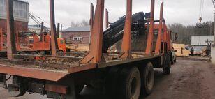 camion trasporto legname KAMAZ Манипулятор