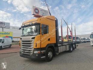 camion trasporto legname SCANIA 420