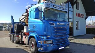 camion trasporto legname SCANIA R 500 + rimorchio trasporto legname