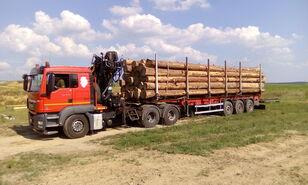 camion trasporto legname MAN TGS 26.480 6x4 BB