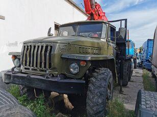 camion trasporto legname URAL HYAB