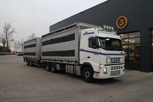 camion trasporto pollame VOLVO FH12.480 6x4 + rimorchio furgone