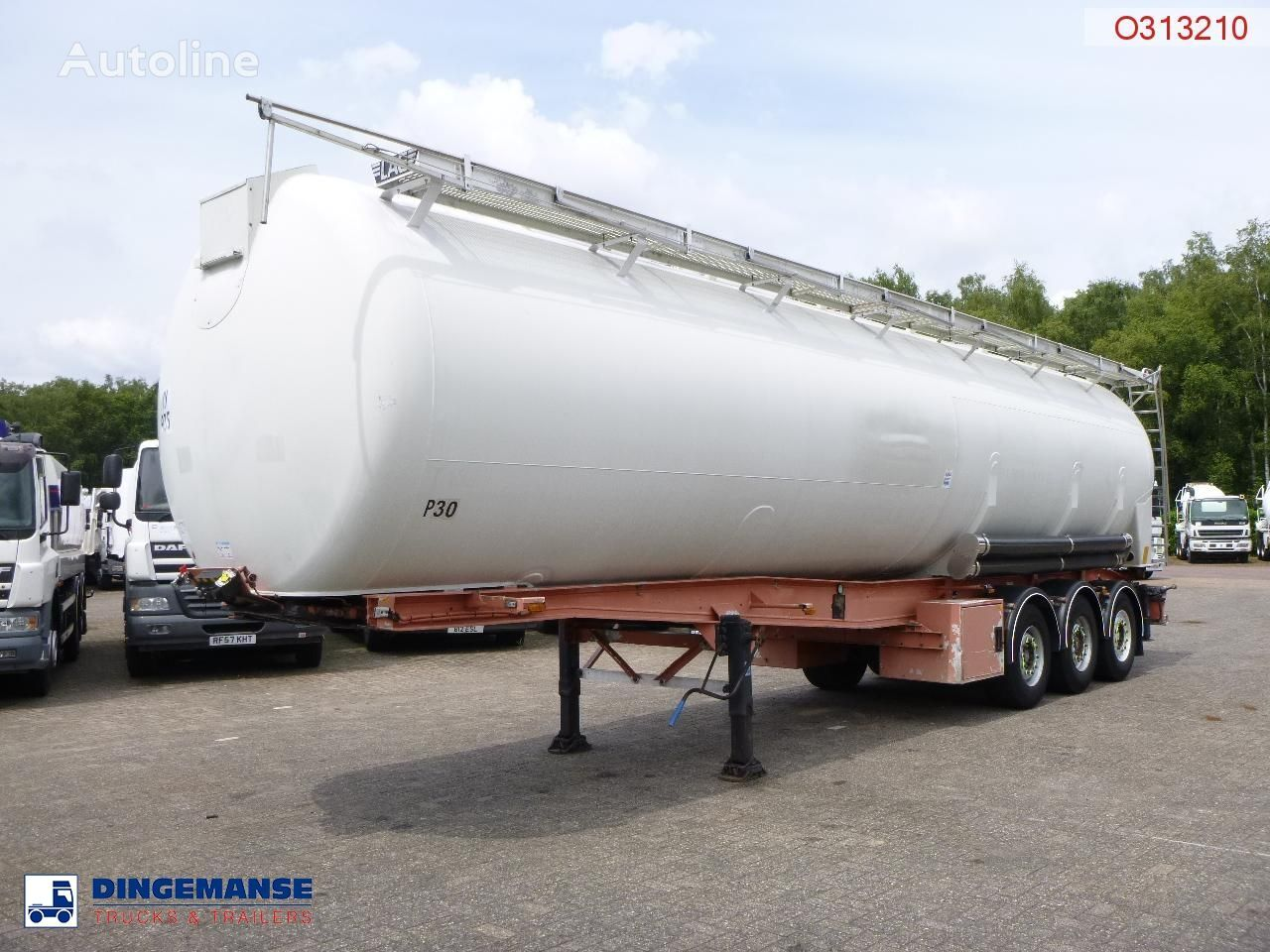 cisterna silo LAG Powder tank alu 60.5 m3 (tipping)