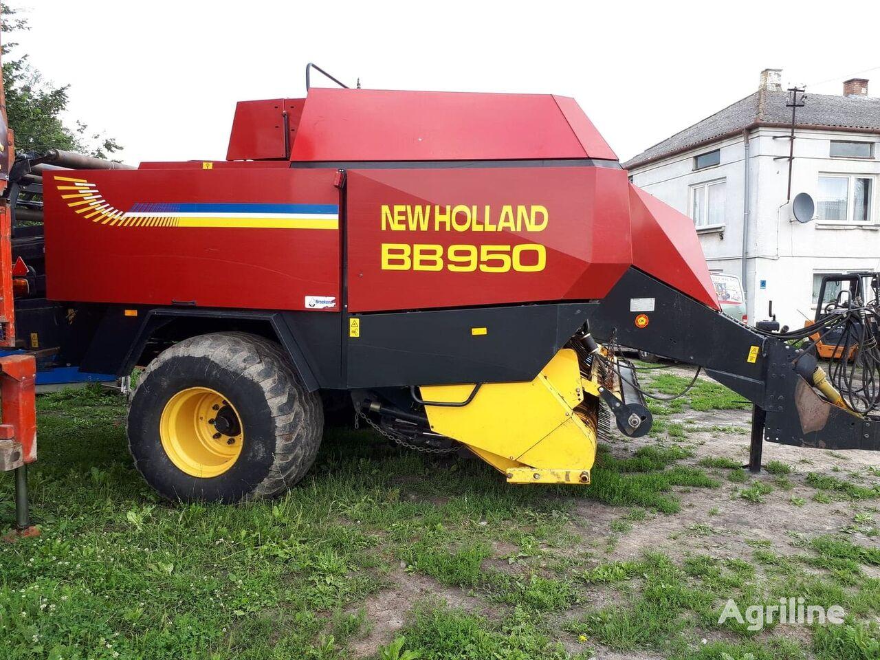 Vendita Di Presse Quadre New Holland Bb 950 Pilnie Pressa