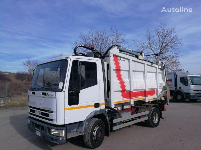 camion dei rifiuti IVECO 120E21 COMPATTATORE FARID 11 MC, SPRING SUSPENSIONS