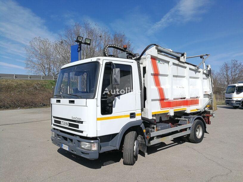 camion dei rifiuti IVECO 120E21 passo 3105 BALESTRATO COMPATTATORE FARID 11 MC