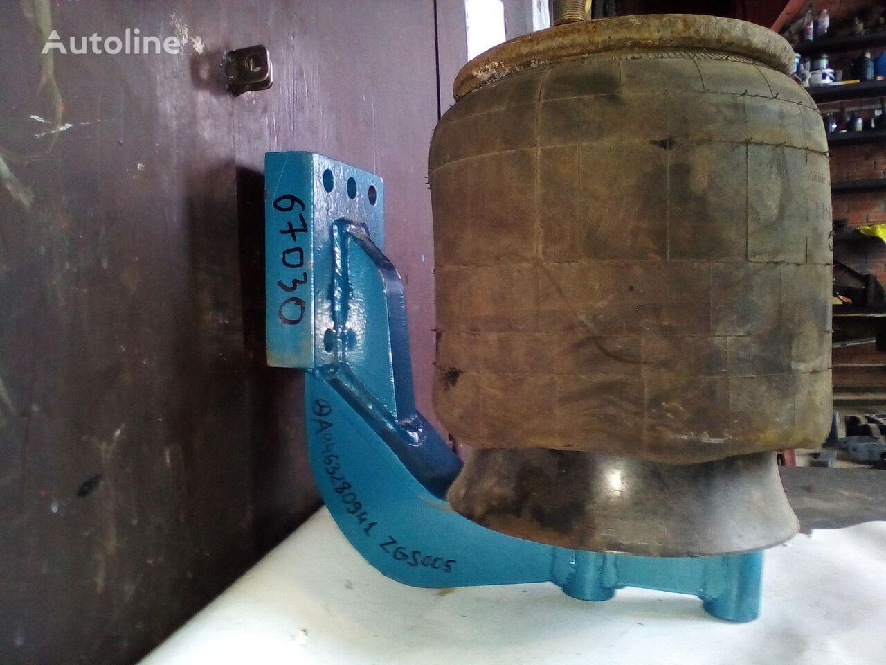 elementi di fissaggio Kronshteyn pnevmopodushki iz stali Kronshteyn osi Mersedes Kranshteyn pnevmoressory (podushki) per camion MERCEDES-BENZ polupricep