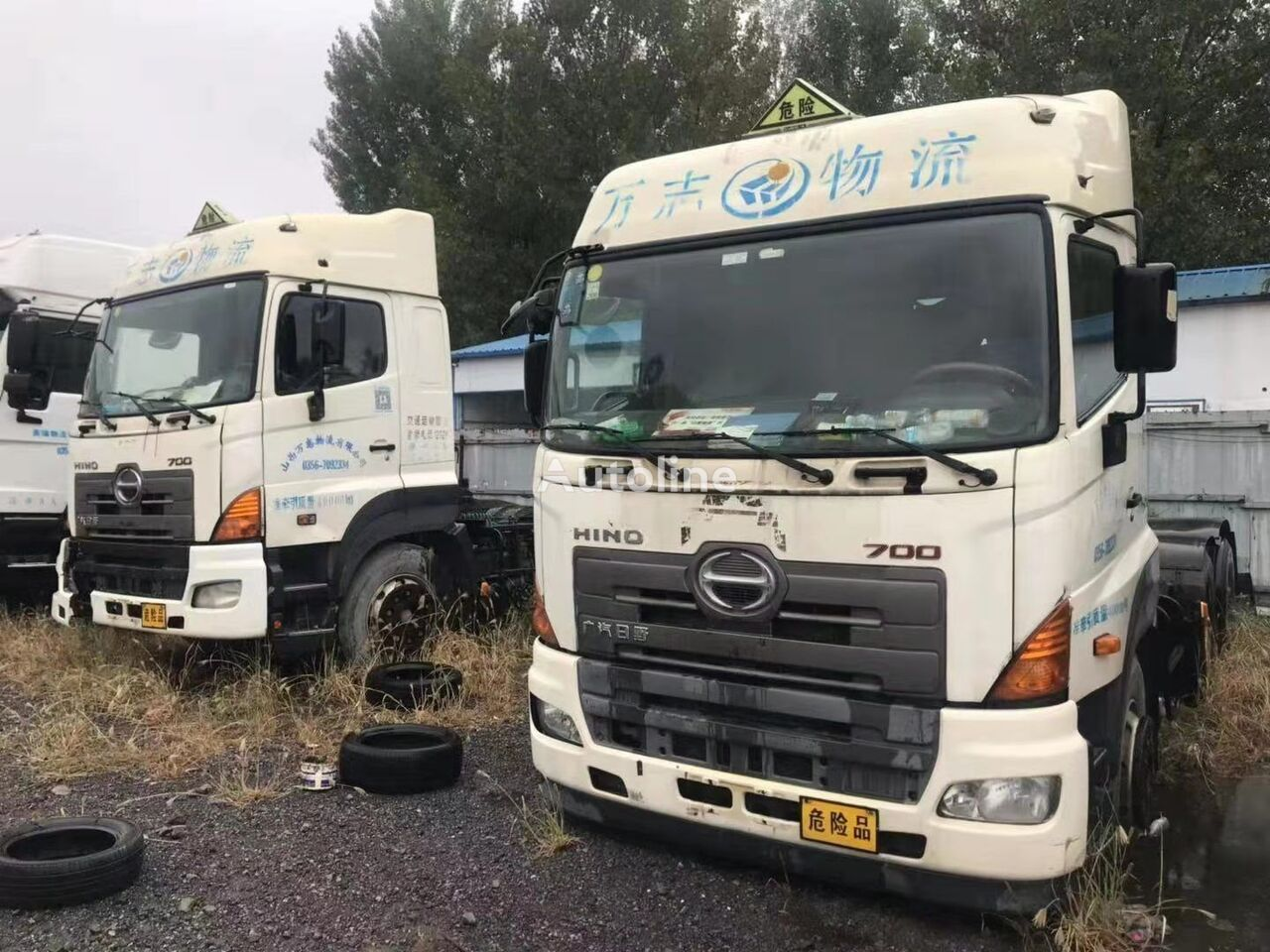 trattore stradale HINO USED  HINO  700  TRACTOR  FOR  SALE
