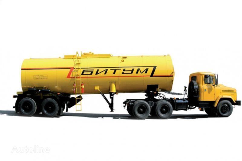 trattore stradale KRAZ Avtobitumovozy 63431 AB-22 i 6443 AB-30,5 nuovo + cisterna semirimorchio