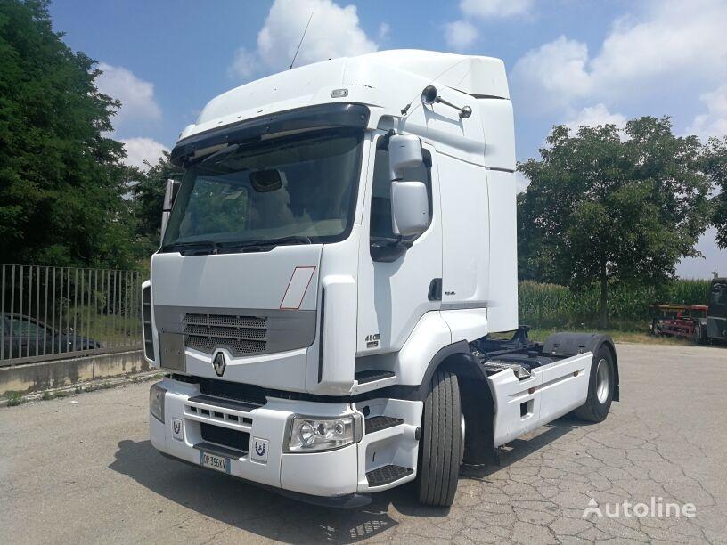 trattore stradale RENAULT PREMIUM 450 EURO 5, POMPA + PTO, ZF 16 MARCE+INTARDER